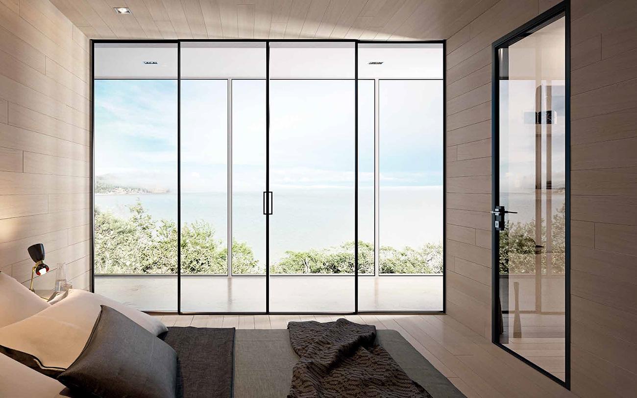 Porte In Alluminio Anodizzato porta interna - g-like - giemme | produzione e vendita di